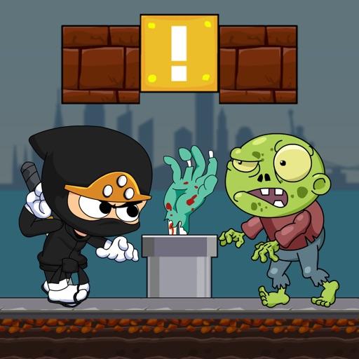 Супер ниндзя vs. зомби игры бесплатно Run Games