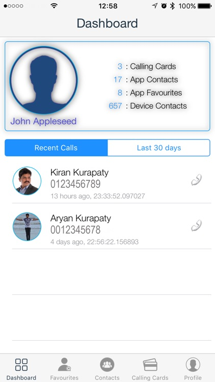 Smart Caller - CallingCard Mgr