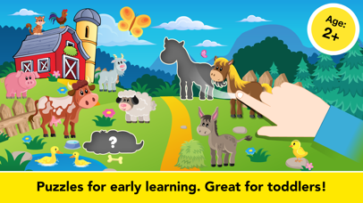 Shape Puzzle learning games for Toddler Kids free screenshot 2