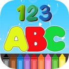 ABC 123 Coloring Book icon