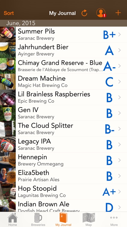 myBeerNation - Beer Journal and Brewery Finder