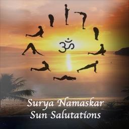 Surya Namaskar - Sun Salutations Yoga Positions
