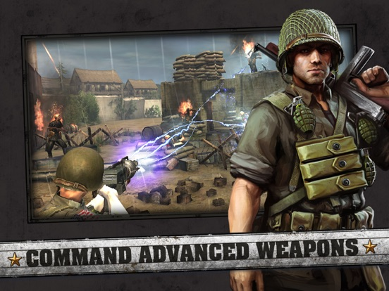 Frontline Commando: D-Day-ipad-2