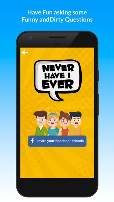 Never Have I Ever: Party Game New Fun Questions screenshot one