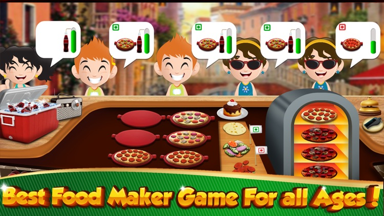 Cooking Games Burger HOT Fast Food Restaurant Chef screenshot-2