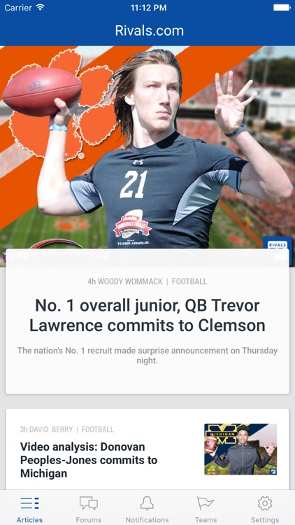 Rivals.com - No. 1 college sports recruiting news
