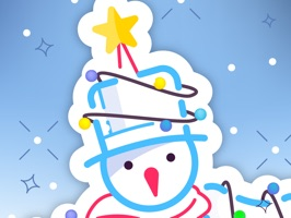 Add more emotion to your text with winter stickers