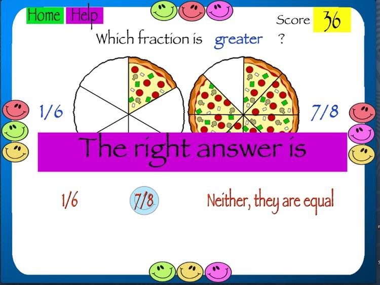 Comparing Fractions screenshot-4