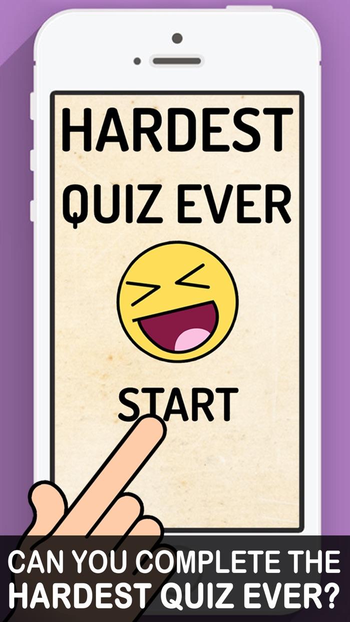 Hardest Quiz Ever! Screenshot