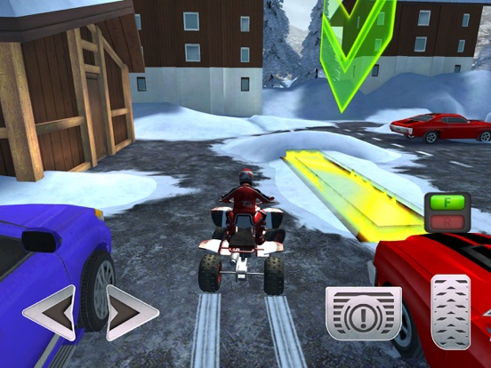 ATV Quad Bike Snow Parking Simulator 2017 screenshot 7