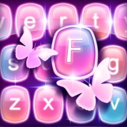 Luminous Keyboard Change.r: Color Skins with Emoji