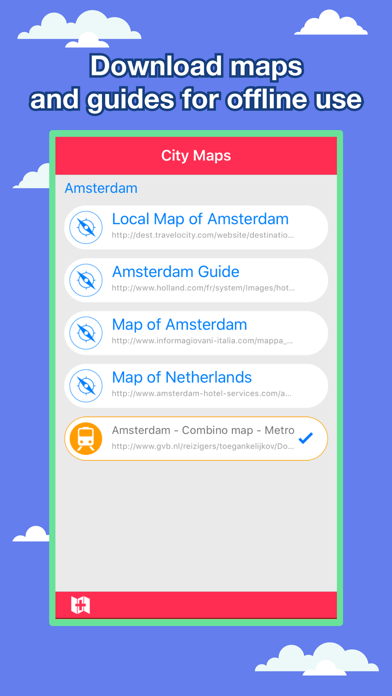 Amsterdam City Maps - Discover AMS with MRT,Guides