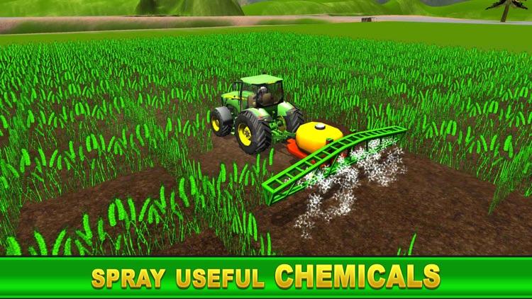 Farm Simulator Games: Diesel Tractor Harvest