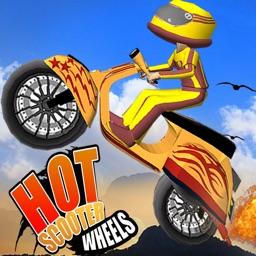 HOT SCOOTER WHEELS - 3D RACING GAMES