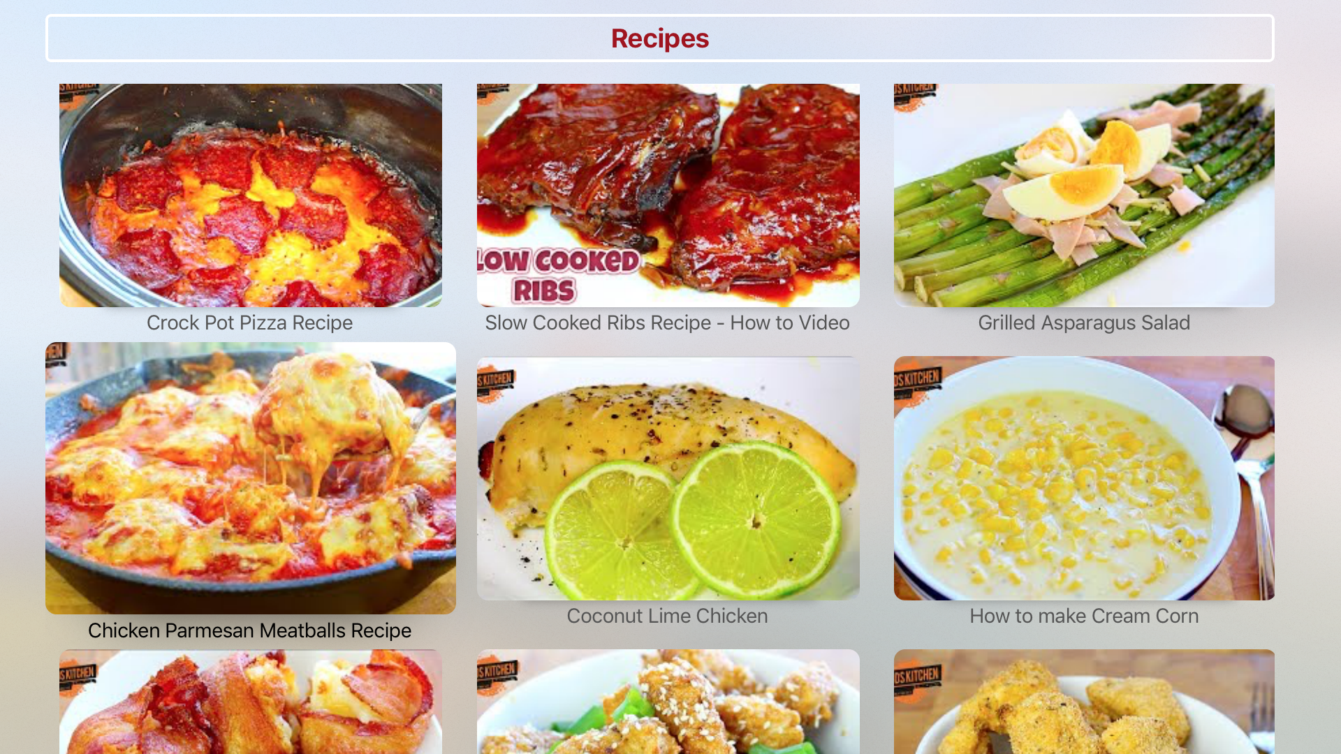 Recipes Tube - Top Cooking (Hot and Spicy) screenshot 4
