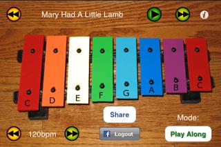 iXylophone - 年齢に関係なく子供達のために木琴を奏でましょう。のおすすめ画像5