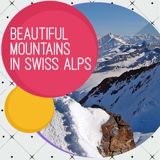 Beautiful Mountains In Swiss Alps