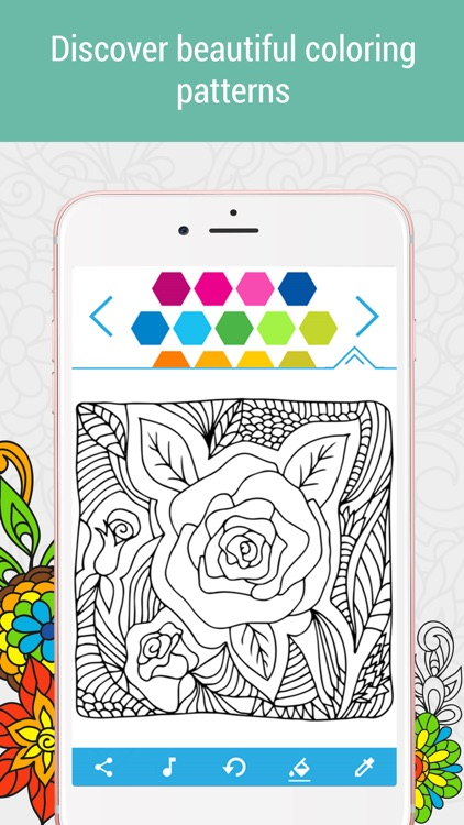 Anti-stress Coloring Book Calm screenshot-1