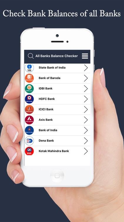 All Banks Balance Checker & Balance Inquiry