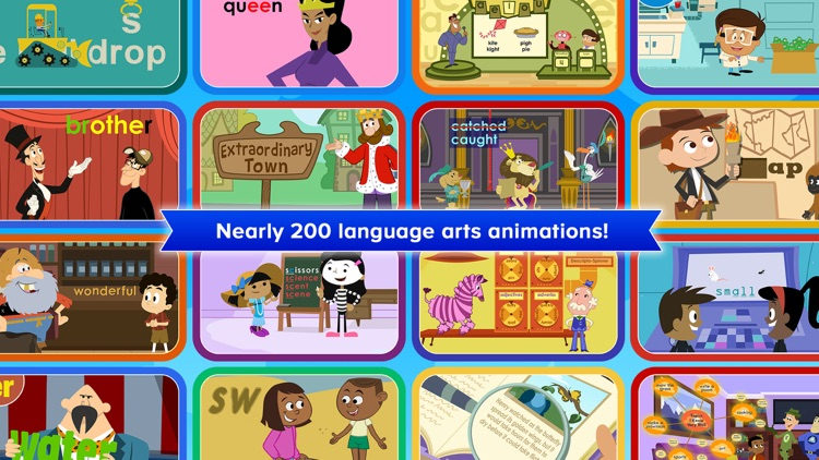 Language Arts Animations