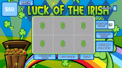 Scratchcard Mania Lucky Lotto Dip Jackpot Lottery   App