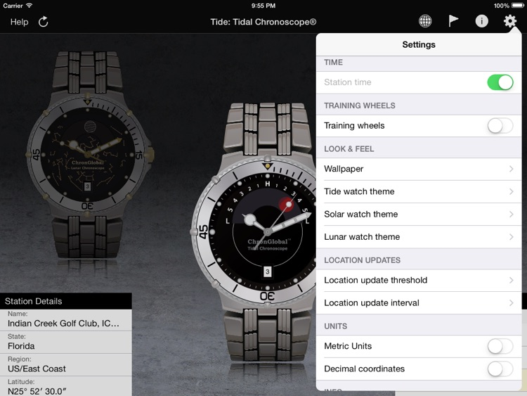 Tide: Tidal Chronoscope HD screenshot-4