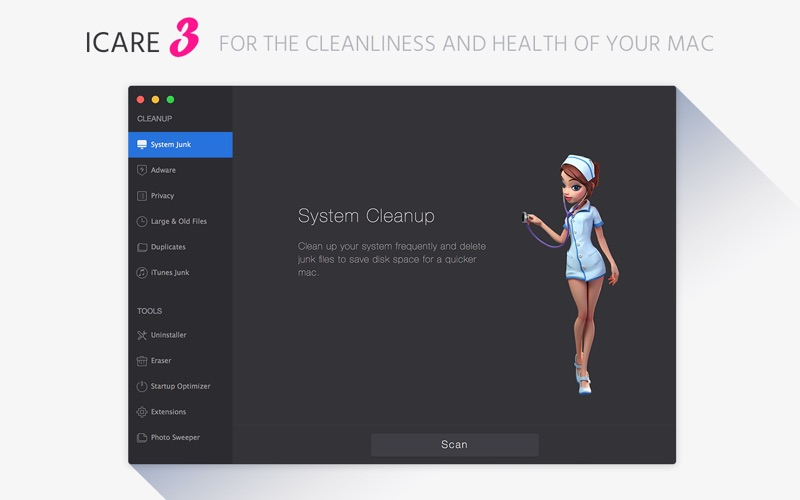 iCare 3 for Mac