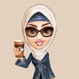Arab Woman - Sticker Pack