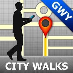 Galway Map and Walks, Full Version