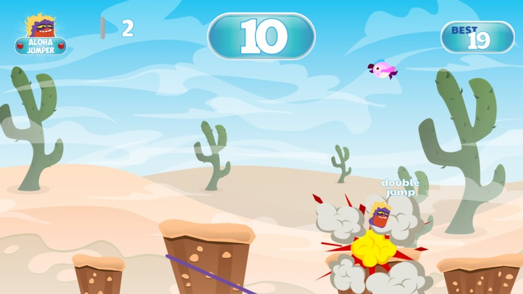 Aloha Jumper Adventures - Moana Friend in Jungle screenshot-4