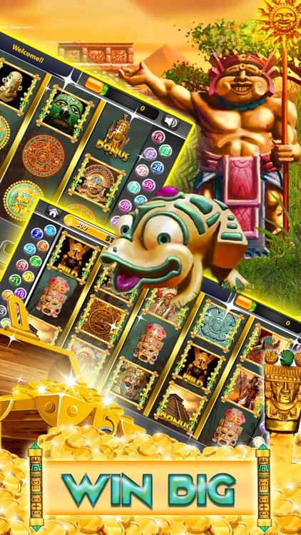 Aztech Treasure Slots Casino: Vegas free Slot game