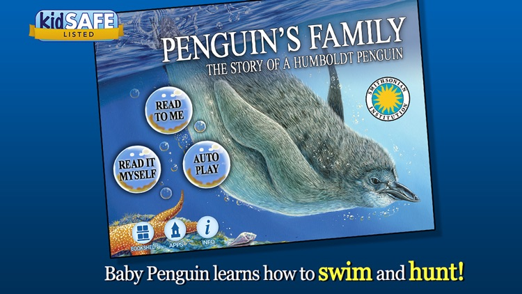 Penguin's Family - Smithsonian Oceanic Collection