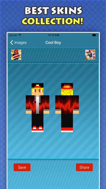 New COOL BOY SKINS FREE For Minecraft PE & PC screenshot-4