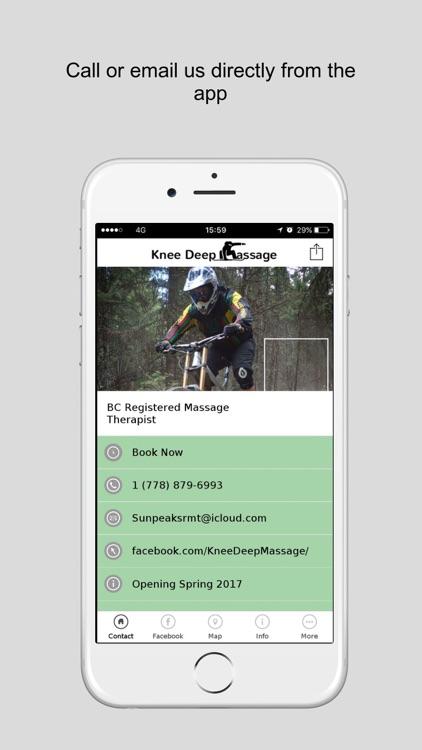 Massage app for facebook