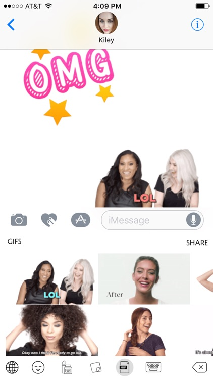 Sephojis – Sephora Emoji Keyboard & GIFs screenshot-4