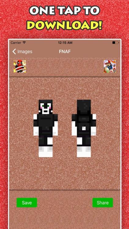 BEST FNAF SKINS FREE For Minecraft Pocket Edition screenshot-4