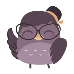 Nerdy Girl Owl - Sticker Pack