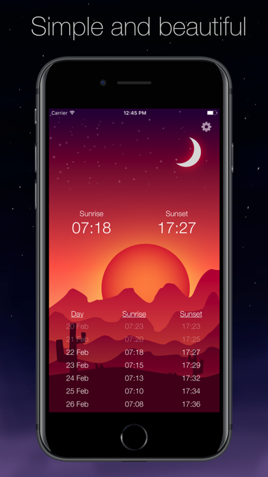 Sun Now - Sunrise and Sunsetのおすすめ画像1