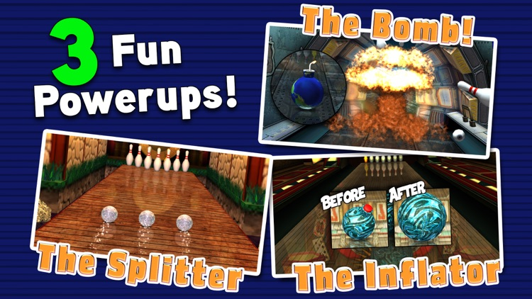Gutterball: Golden Pin Bowling Lite screenshot-3