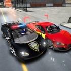Polizia inseguimento in auto simulatore di guida icon