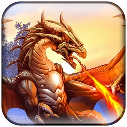 VR Flying Fiery Dragon Shooting - Pro Action Game