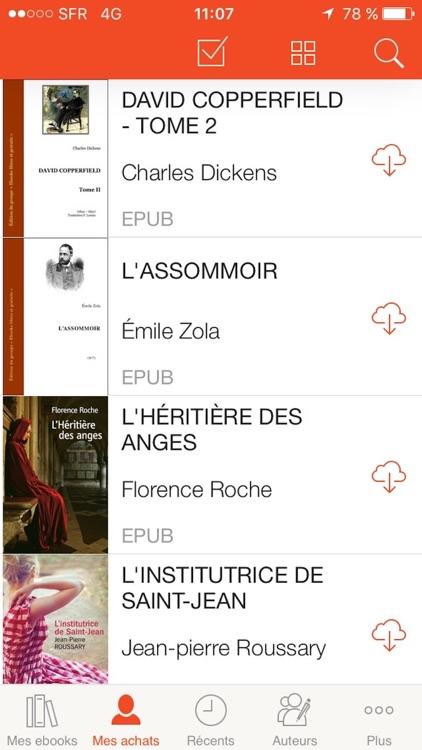 Québec Loisirs Livres numériques