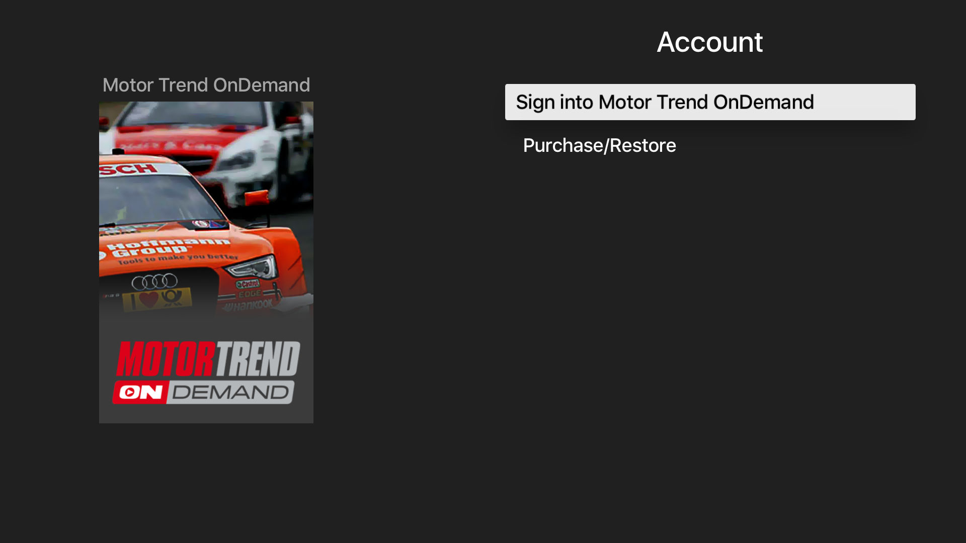 MotorTrend: Stream Car Shows screenshot 14