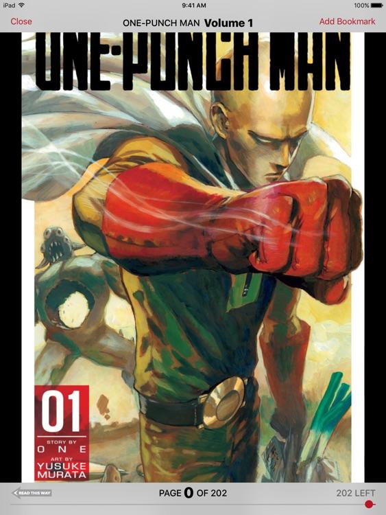 Manga — Naruto, One-Punch Man, One Piece & More screenshot-3
