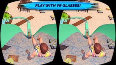VR Beach Water Sliding - Water stunt & ride Pro screenshot three