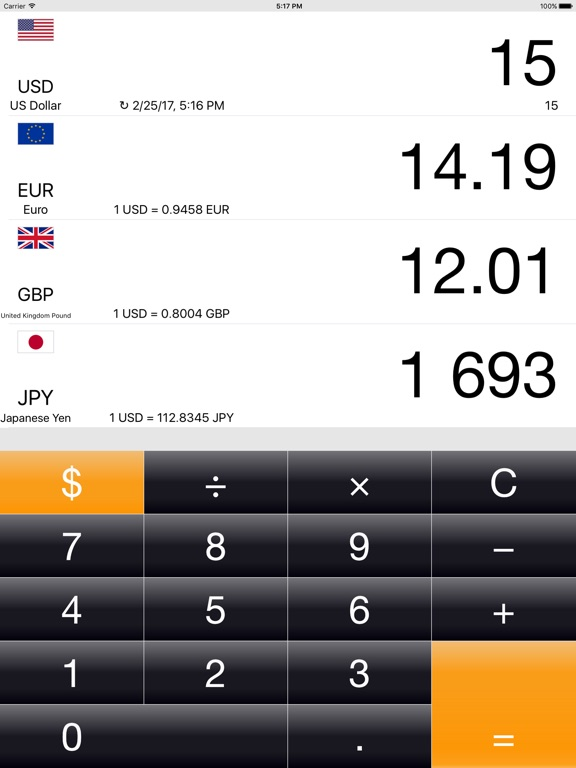 Money converter: Currency+ Screenshots