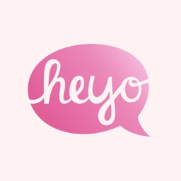 Heyo - Beautiful Handwritten Color Speech Bubble