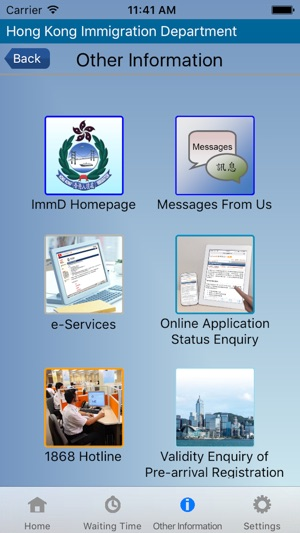 HK Immigration Department on the App Store