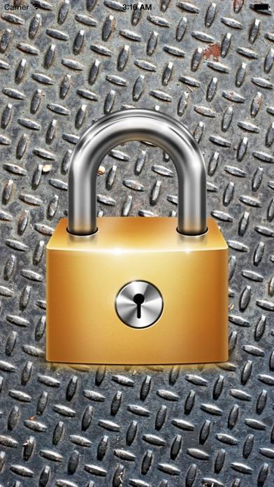 Dualock: Secure Note Screenshots
