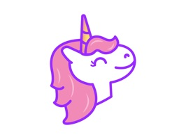 Fully express yourself with the Unicorn Snot iOS Sticker Pack